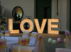 Love letters at Wynyard Hall