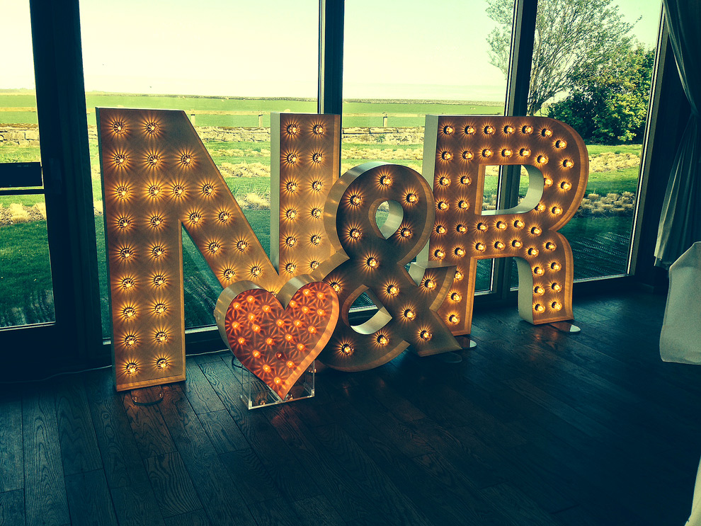 Light Up Initials And Letters Your Name In Lights