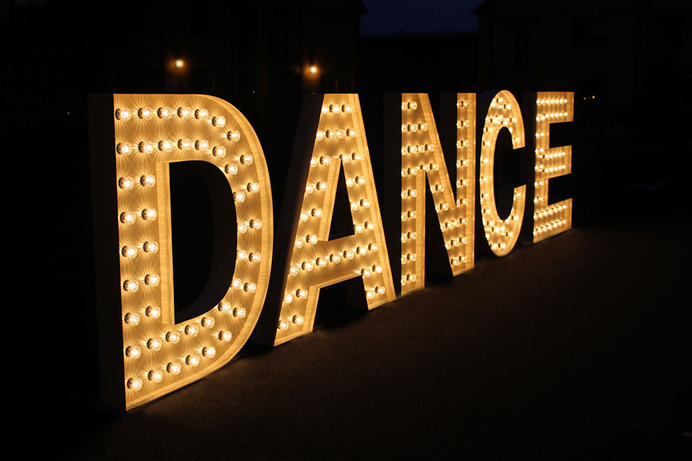 Delightful Dance Letters. For Hire Design Inspirations