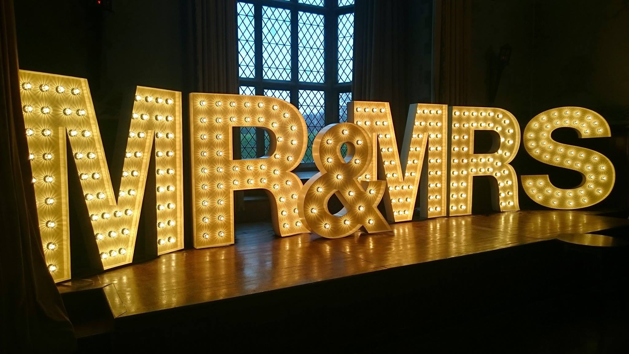 Gold Lit Letters Love Letters Wedding Lights And Letter Hire In North East